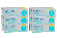 Acuvue Oasys 1-Day for Astigmatism with HydraLuxe, Sparpaket für 6 Monate 2x 180 Stück