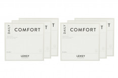 Lensy Daily Comfort Spheric Kontaktlinsen von Dynoptic, Sparpaket 9 Monate 2 x 270 Stück